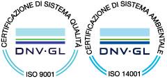 Logo DNV Certificazione ISO 9001